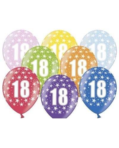 Balon pastelowy na 18 urodziny