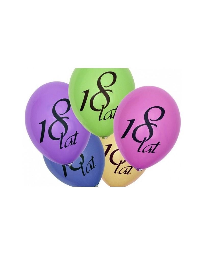 Balon pastelowy na osiemnastkę mix