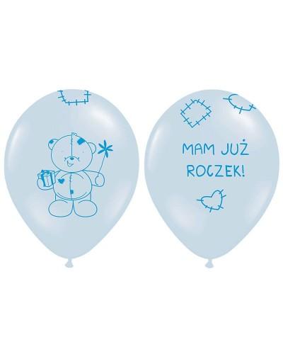 """Balony na """"1"""" urodziny MAM JUŻ ROCZEK"""