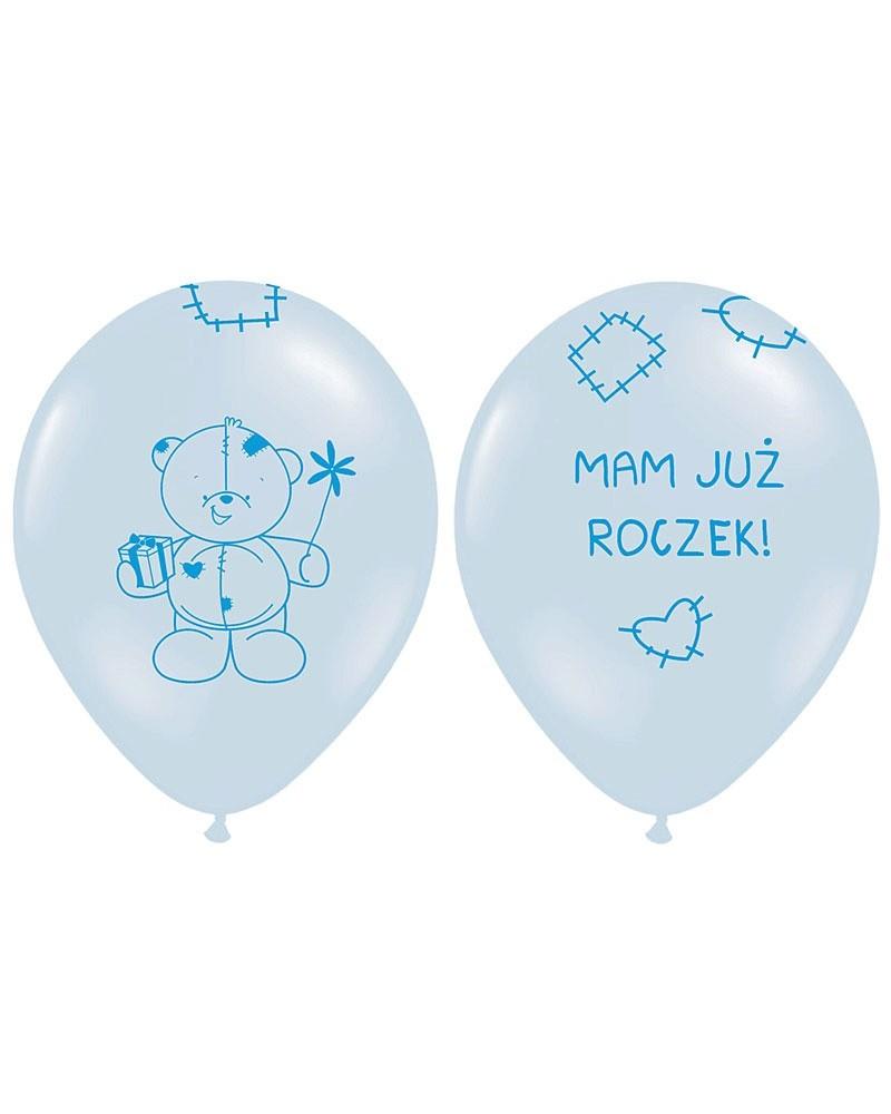 Balony Na Urodziny Mam Już Roczek Dekoracje Urodzinowe Happeningspl