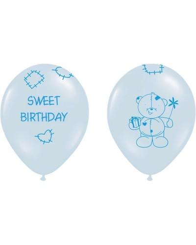 """Balony na """"1"""" urodziny SWEET BIRTHDAY"""