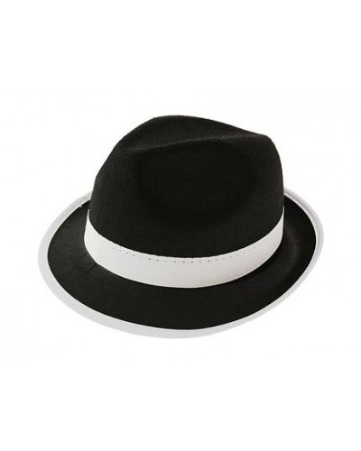 Kapelusz Al Capone czarny