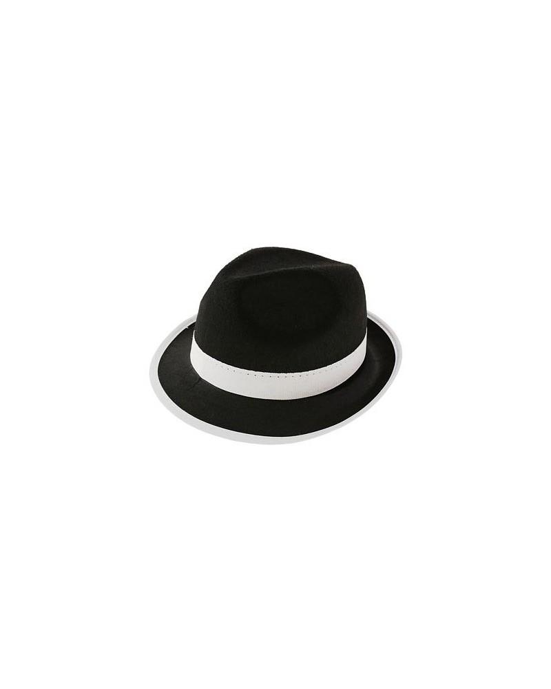 6Kapelusz Al Capone czarny