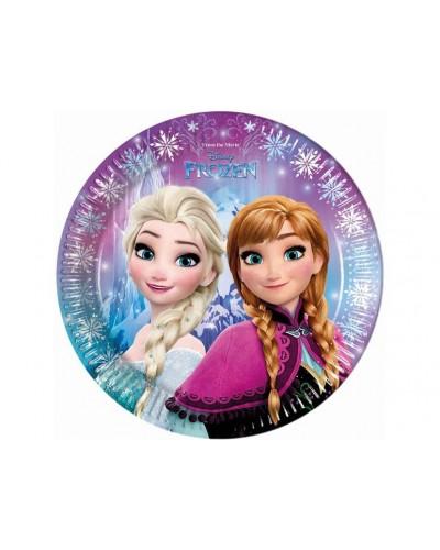 Talerzyki kraina lodu Elsa Ana Frozen