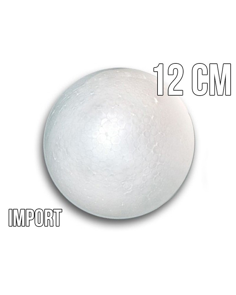 Kula styropianowa 12cm