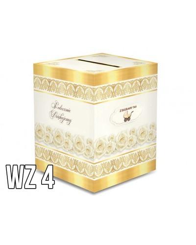 Pudełko na koperty - pieniądze WZÓR 4