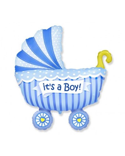 Balon foliowy na Baby Shower chłopczyk
