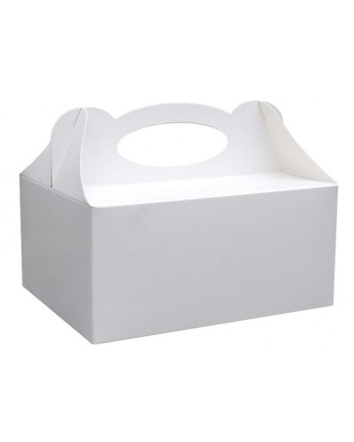 Pudełko na ciasto Białe