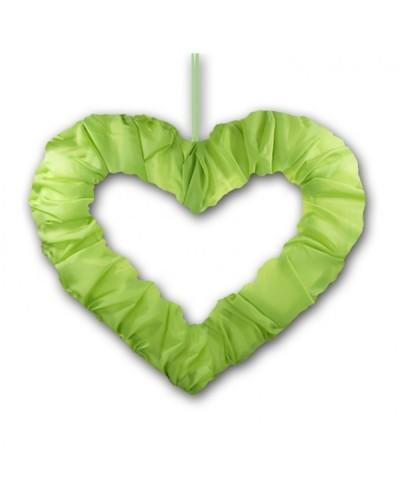 Serce na tasiemce 50cm Zielone