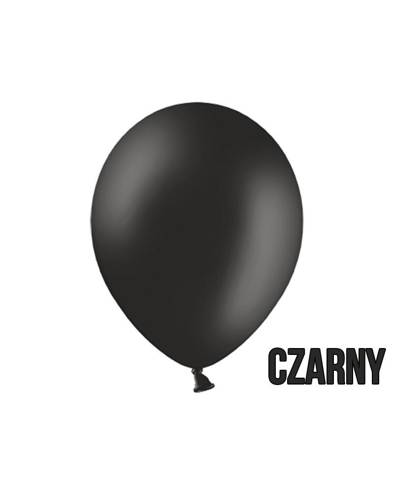 "Balony pastelowe 10"" Czarne"