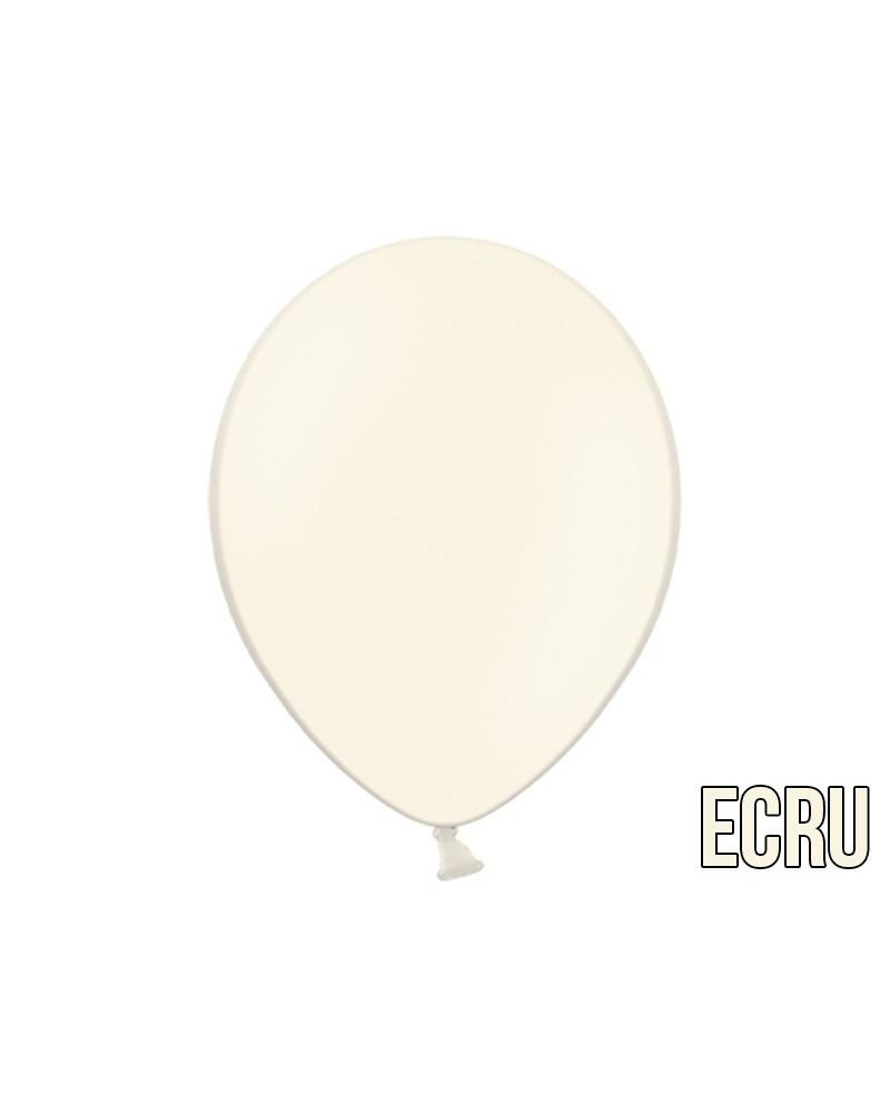 "Balony pastelowe 10"" Ecru"