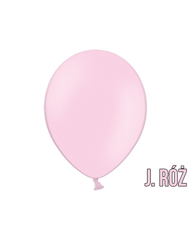 "Balony pastelowe 10"" Jasny Róż"