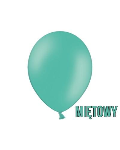 "Balony pastelowe 10"" Miętowe"
