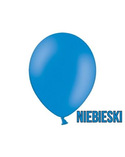 """Balony pastelowe 10"""" Niebieskie"""
