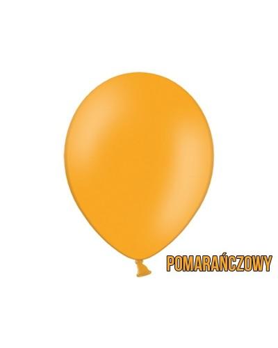 """Balony pastelowe 10"""" Pomarańczowe"""
