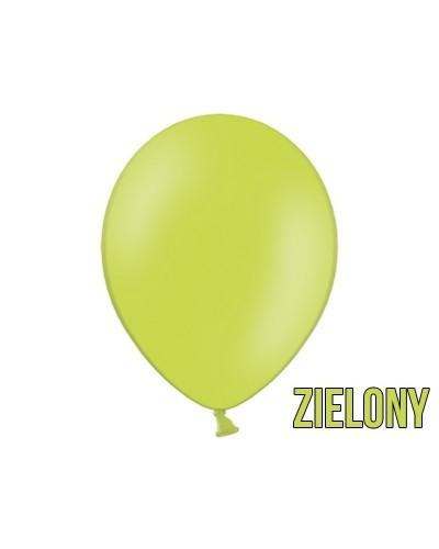 "Balony pastelowe 10"" Zielone"