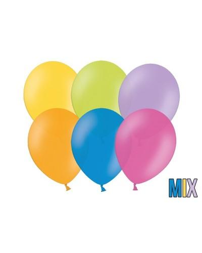 """Balony pastelowe 10"""" Mix kolorów"""