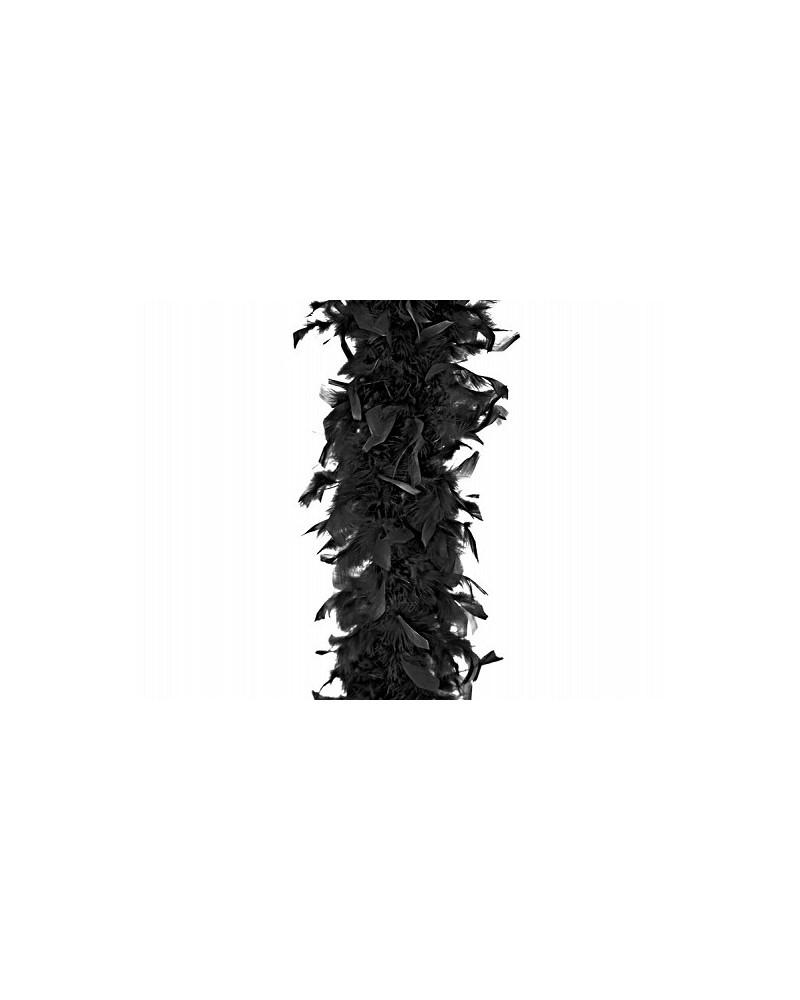 Boa w kolorze czarnym 180cm