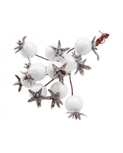 Wiązanka z jagódek białych