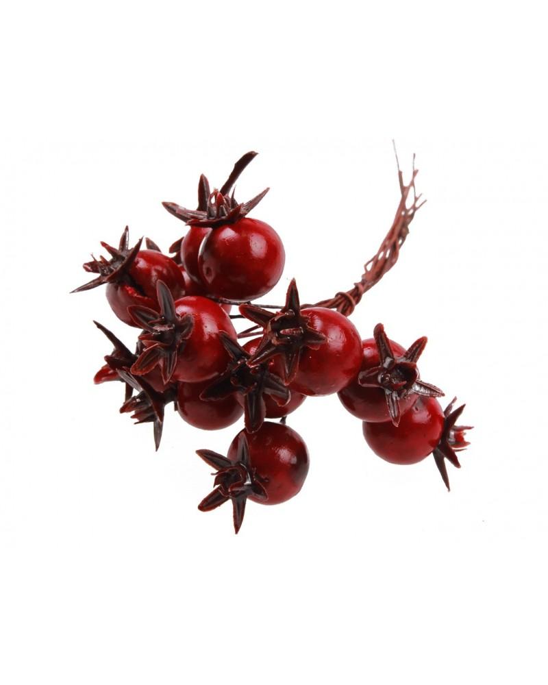 Wiązanka z jagódek czerwonych
