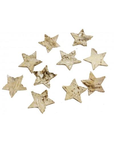 Gwiazdki z kory brzozy