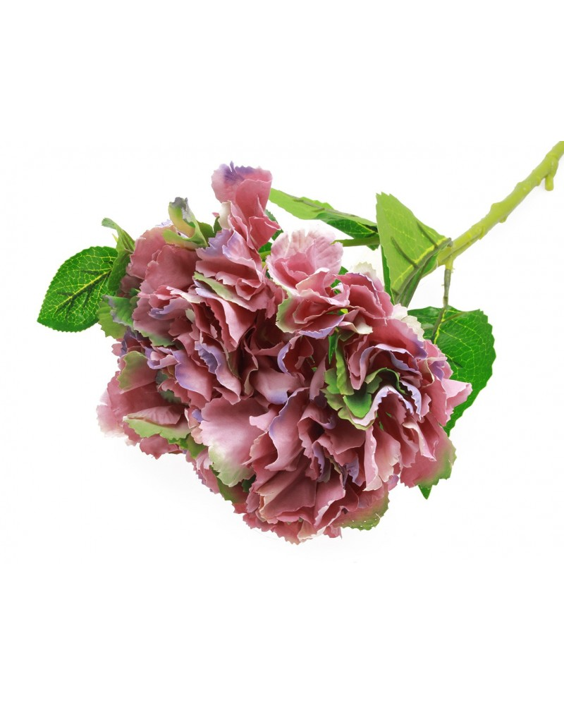 Sztuczny Kwiat Hortensja Fuksja