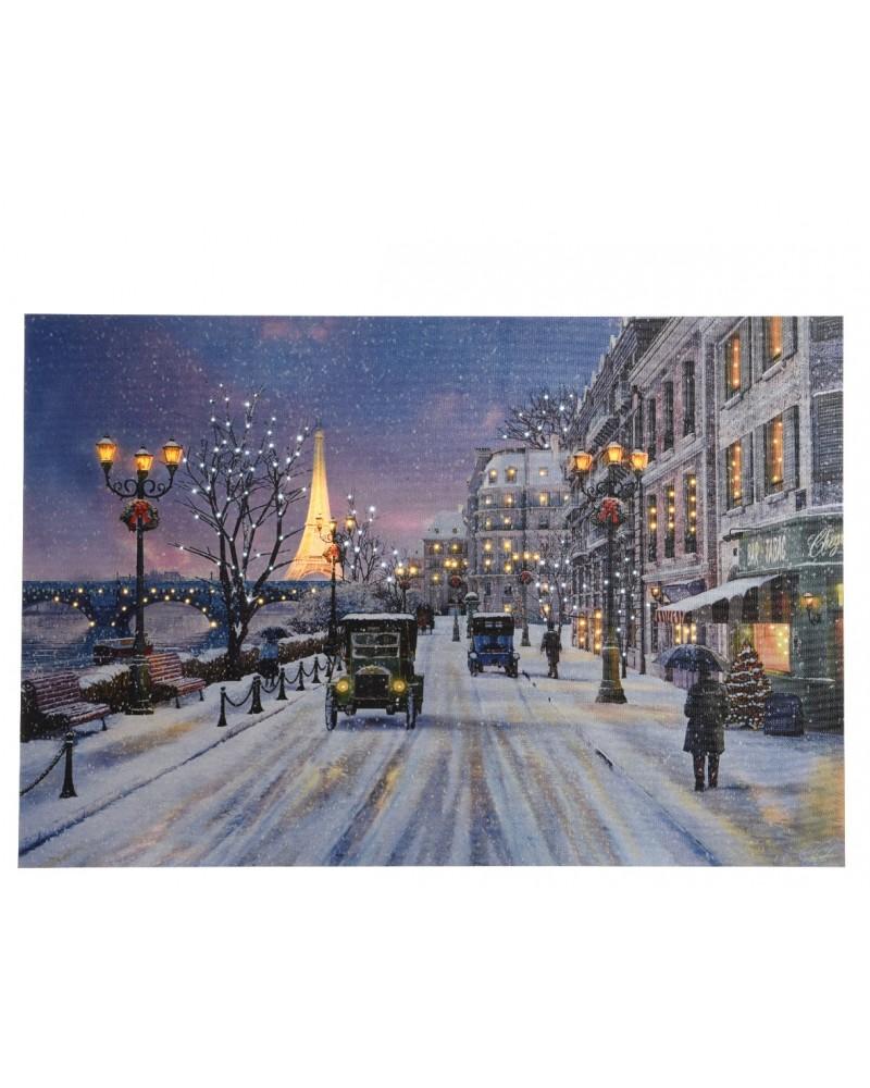 Obraz LED przedstawiający Paryż