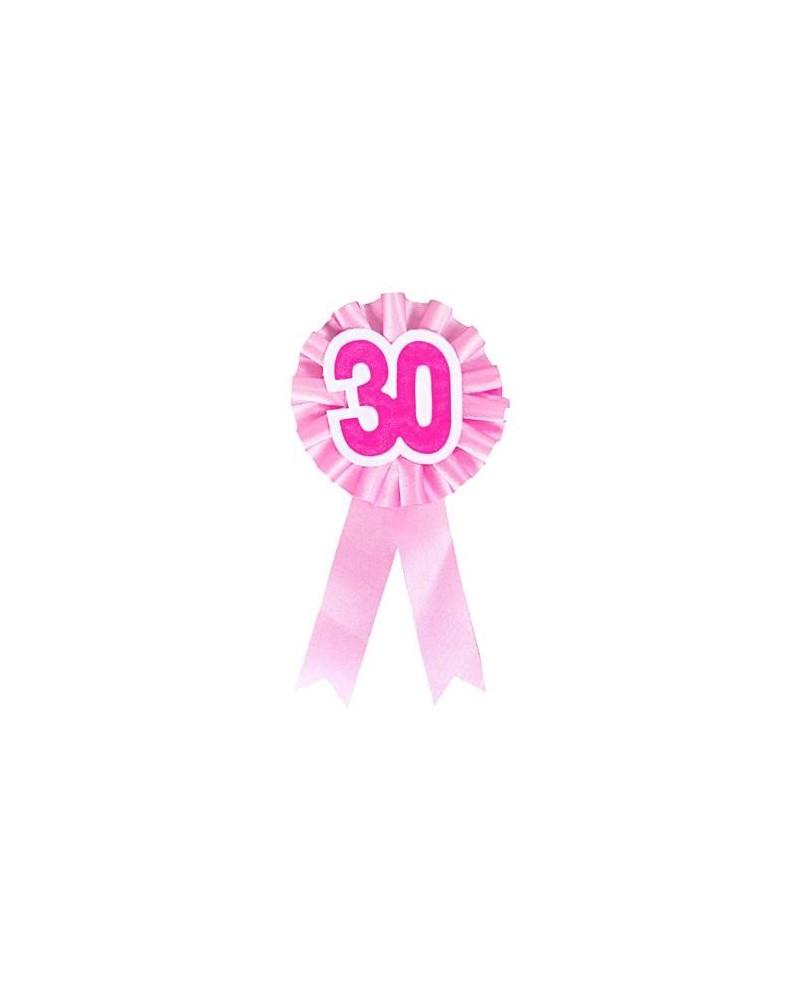 Kotylion 30-tka różowy
