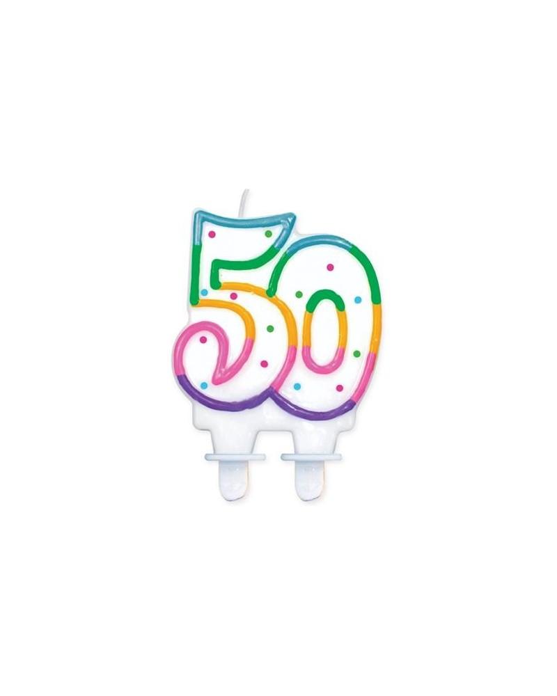 Świeczka na 50-tke