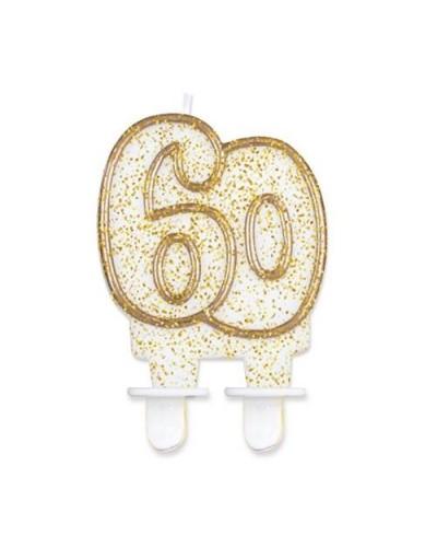 Złota świeczka na 60-tke