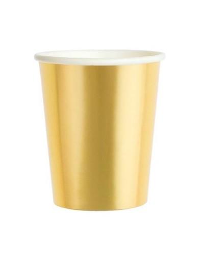 Kubeczki papierowe złote