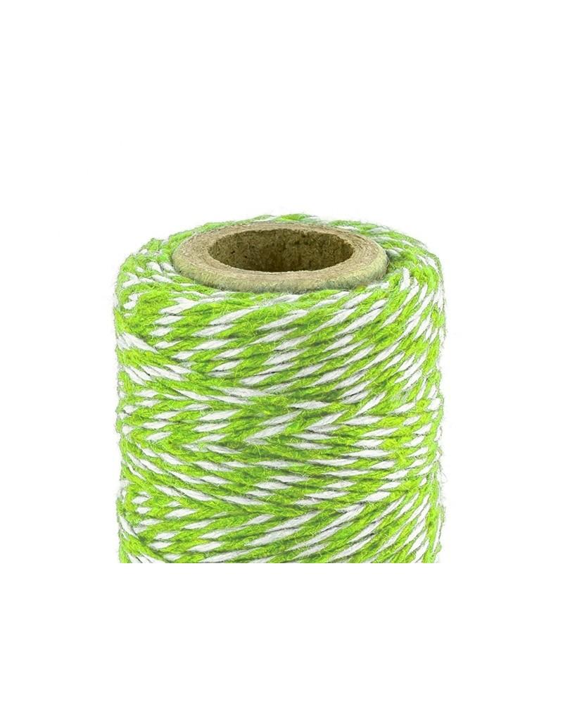 Sznurek bawełniany Zielony 50m