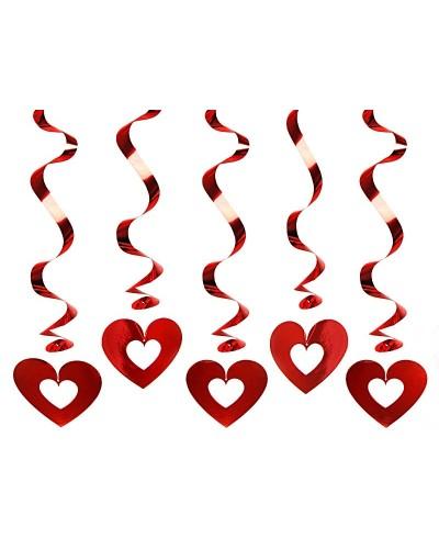 Świderki serca dekoracja na walentynki