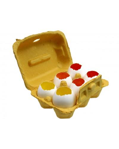 Wydmuszki żółte w ozdobnym opakowaniu