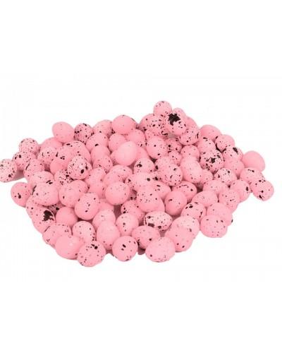 Jajka wielkanocne 2 cm 100 sztuk różowe