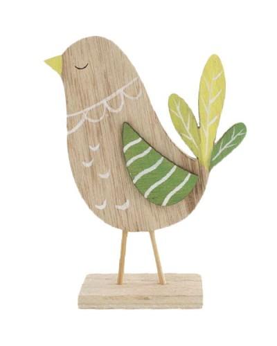Drewniany kurczak 9x7cm, Pani