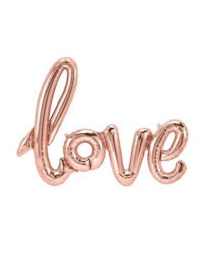 Balon foliowy LOVE Różowy