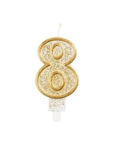 Złota świeczka 8