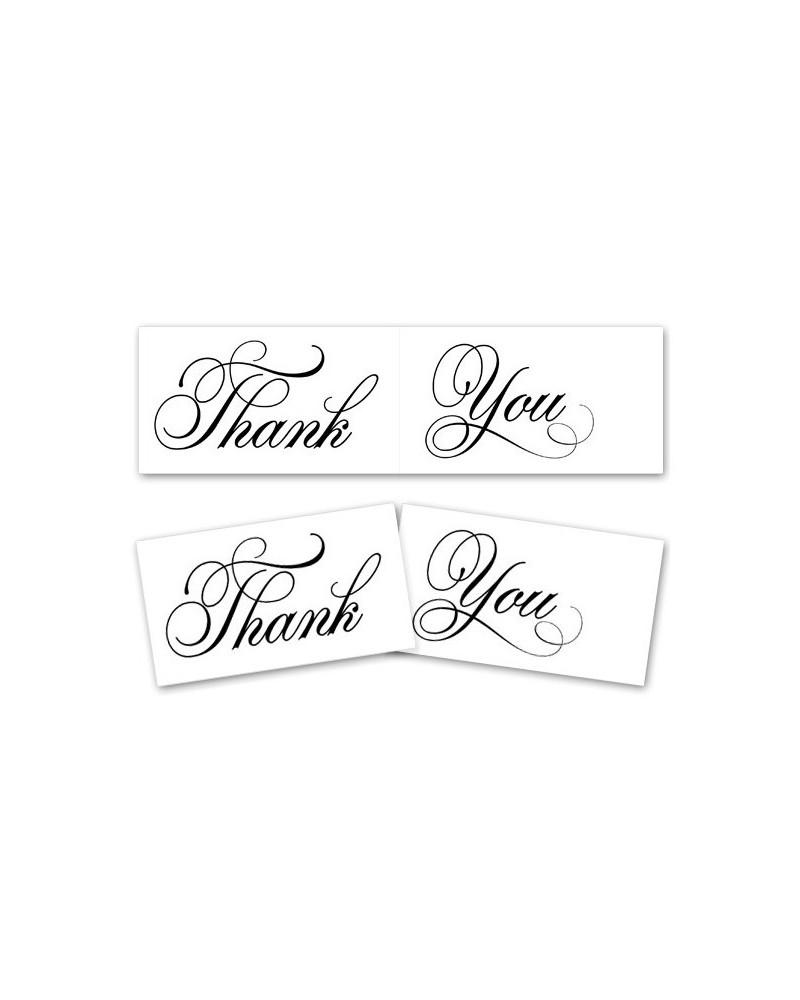 Tabliczki do zdjęć Thank You