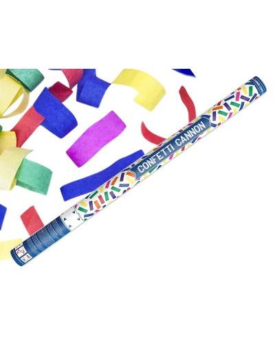 Wystrzałowe konfetti 80cm kolorowe paski