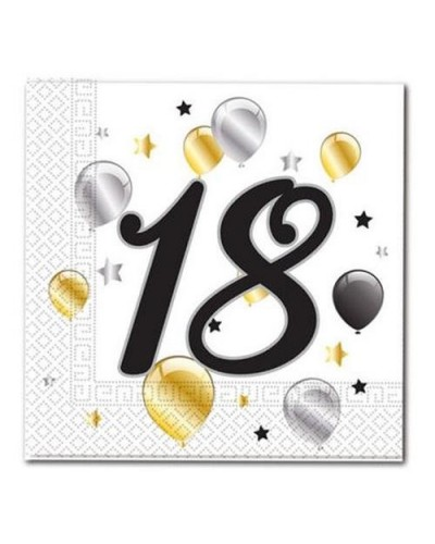 Serwetki na 18 urodziny w balony