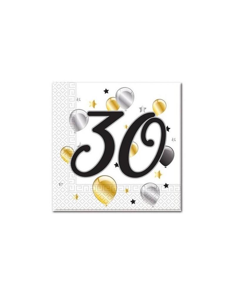 Serwetki Na 30 Urodziny Dekoracje Stołu Urodzinowego Happeningspl
