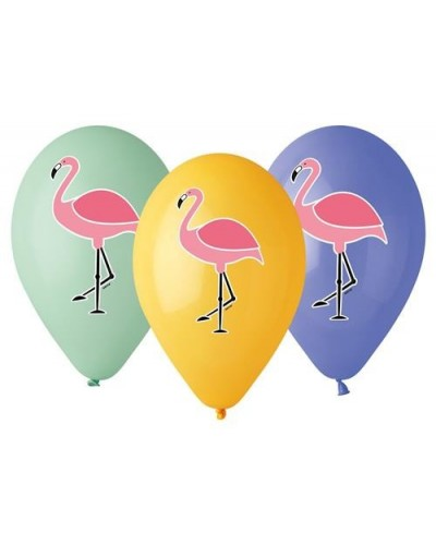 Balony flamingi 5 szt, 13""