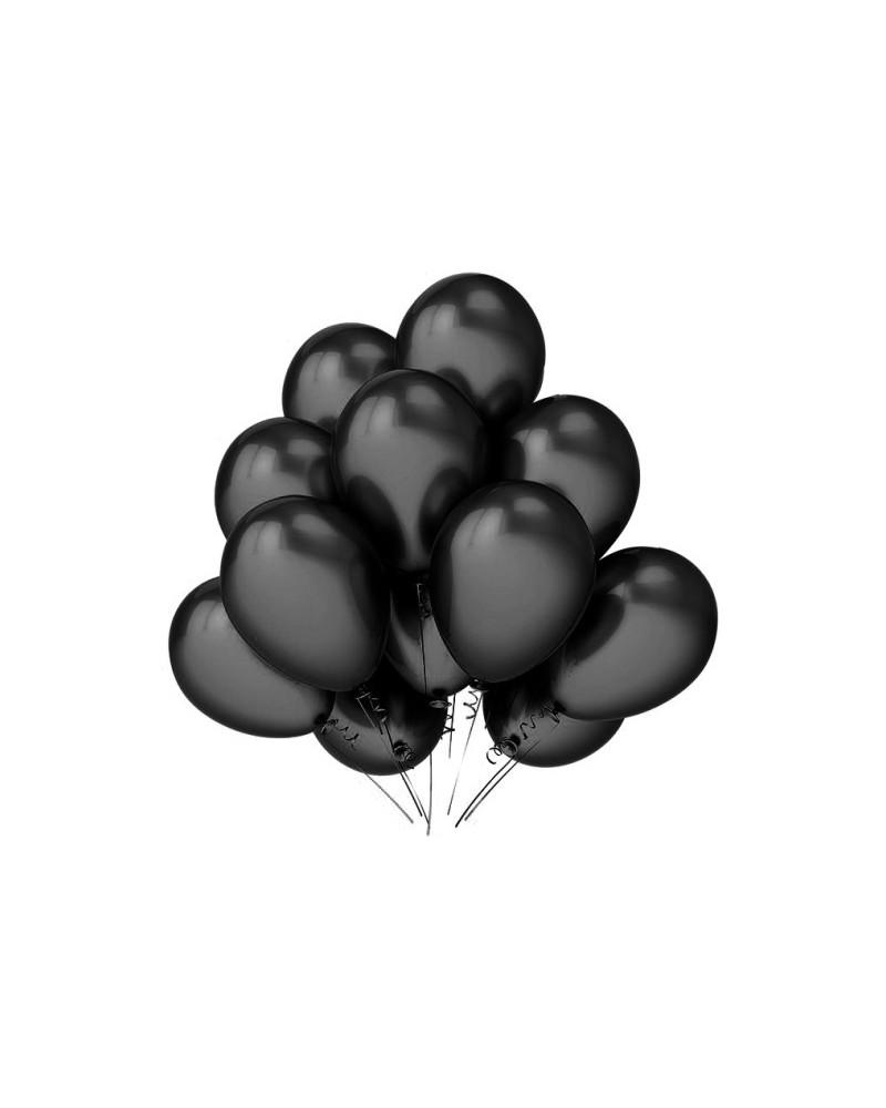 """Balony metaliczne 12"""" czarne"""