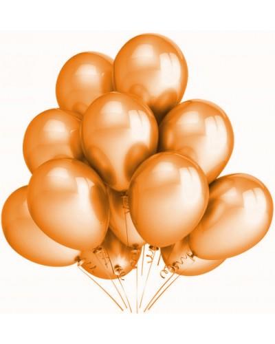 """Balony metaliczne 12"""" pomarańczowe"""