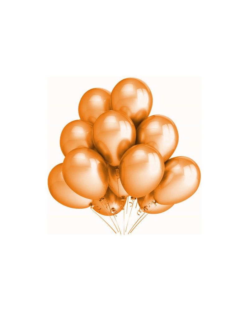 """Balony metaliczne 12"""" pomrańczowe"""