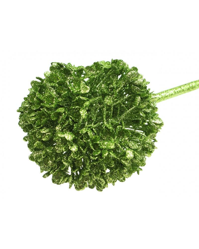 Sztuczny kwiat dodatek, allium brokatowe