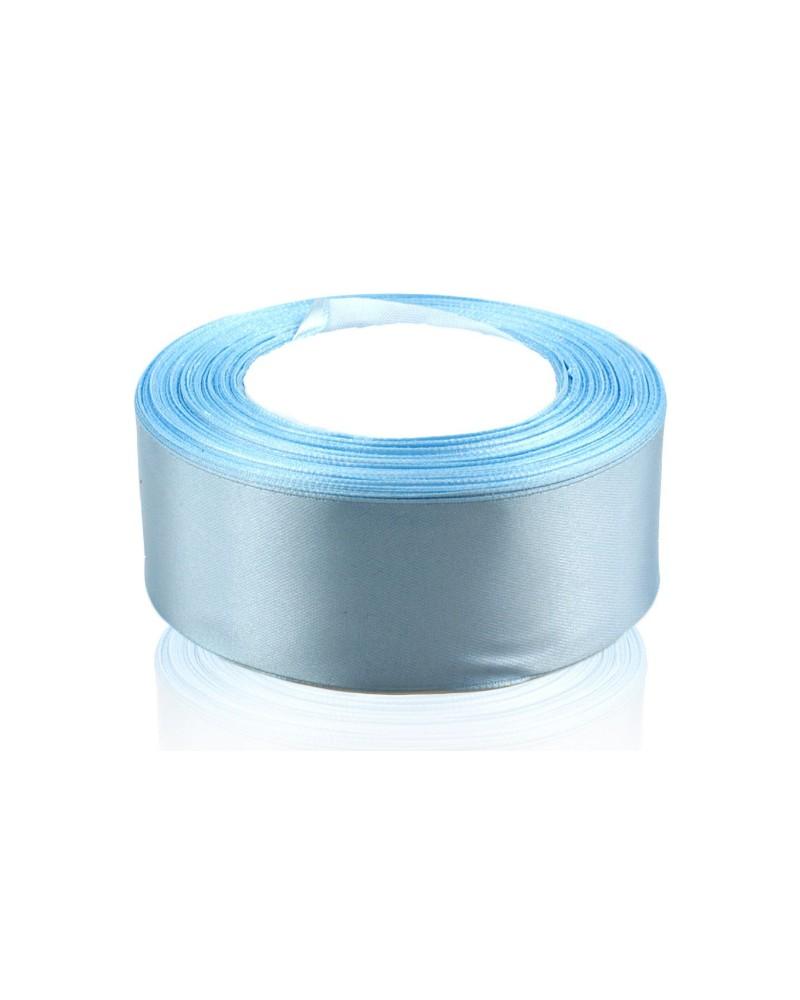 Wstążka satynowa 38mm błękitna