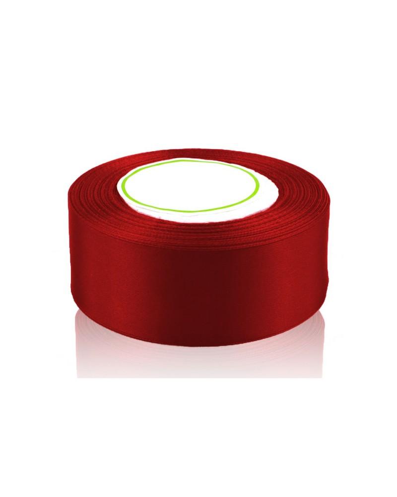 Wstążka satynowa 38mm czerwona
