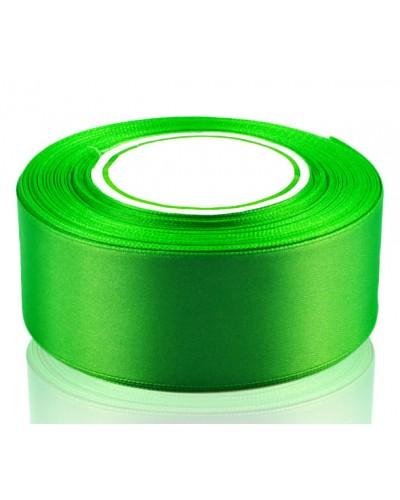 Wstążka satynowa 38mm zielona